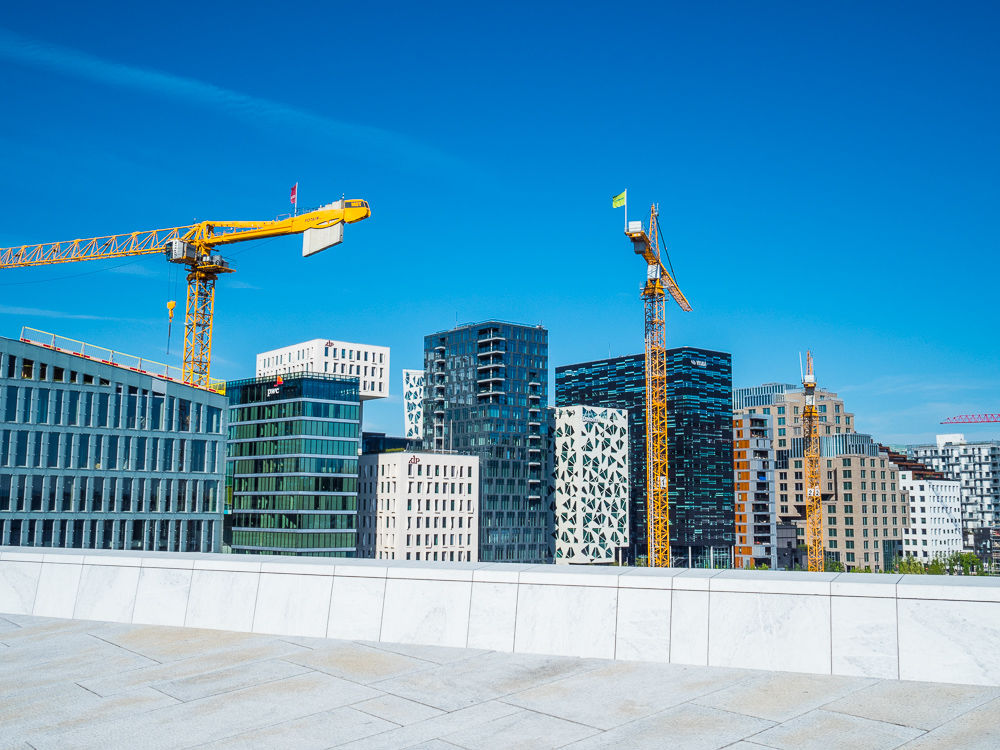Oslo skyline - new buildings